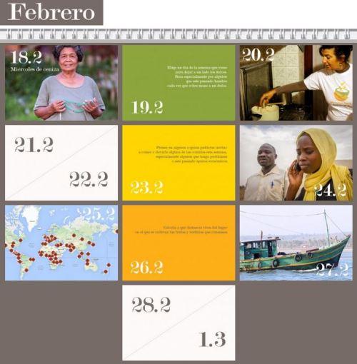 calendario cuaresma
