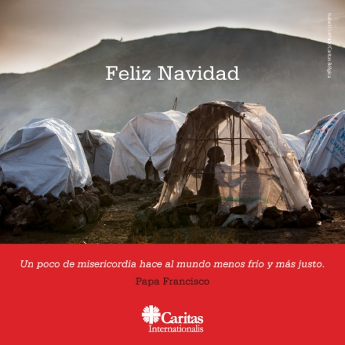 Caritas logo live text